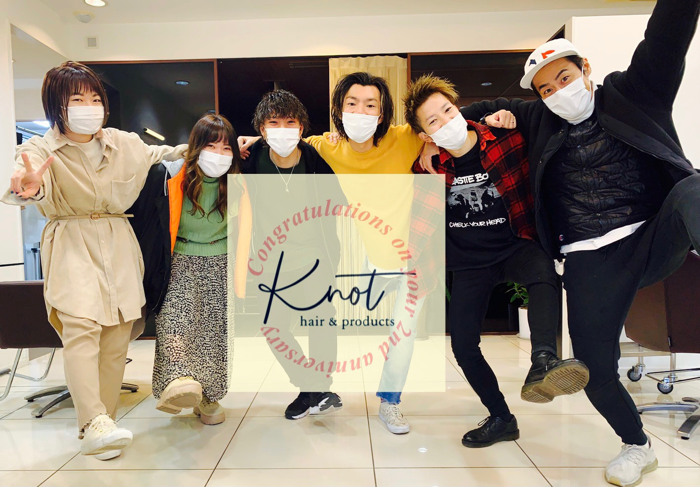 knot hair&products2周年